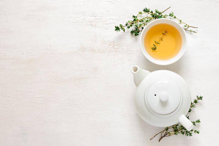 yeşil çay, çay, çay fincan,